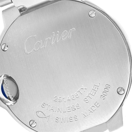 Cartier Cartier Ballon Blue Stainless Steel Small Ladies Watch W69010Z4 Image 6