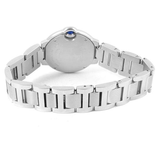 Cartier Cartier Ballon Blue Stainless Steel Small Ladies Watch W69010Z4 Image 7