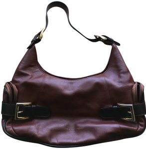 T. Anthony Leather Hobo Bag