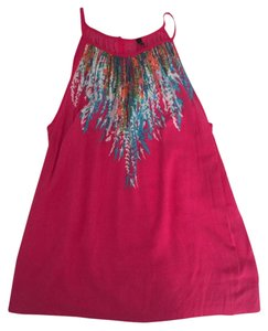 United Colors of Benetton Silk Top Pink