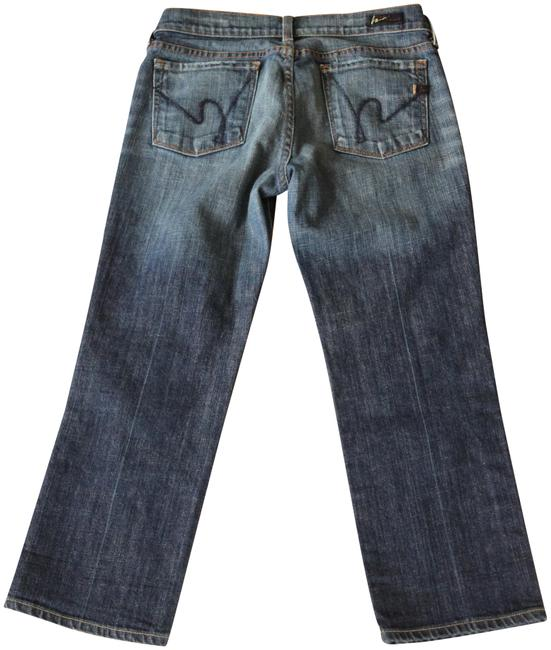 Item - Medium Wash Kelly Low Waist Cropped Boot Cut Jeans Size 28 (4, S)