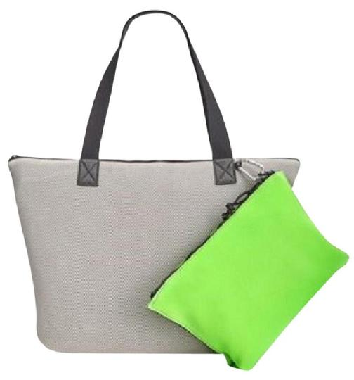 Ideology Beach Summer Tote in Gray/Lime Image 1