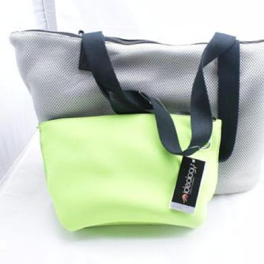 Ideology Beach Summer Tote in Gray/Lime Image 4