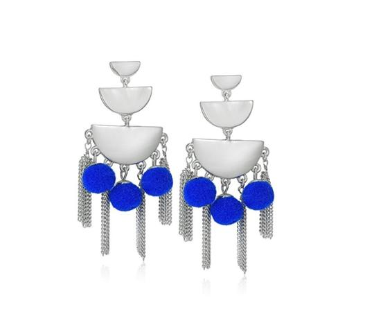 Preload https://img-static.tradesy.com/item/23292317/rebecca-minkoff-silver-and-blue-triple-tier-chandelier-earrings-0-0-540-540.jpg