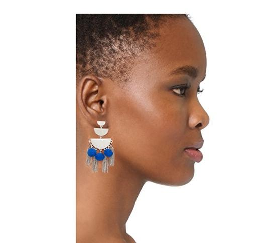 Rebecca Minkoff Triple Tier Chandelier Earrings Image 2
