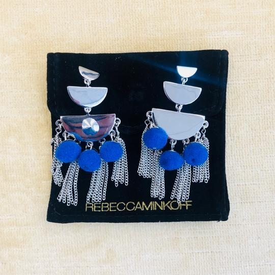 Rebecca Minkoff Triple Tier Chandelier Earrings Image 5