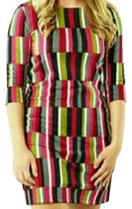 Tracy Negoshian short dress Black, Green, Pink, White, Red, Grey on Tradesy