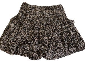 Ulla Johnson Mini Skirt black and cream