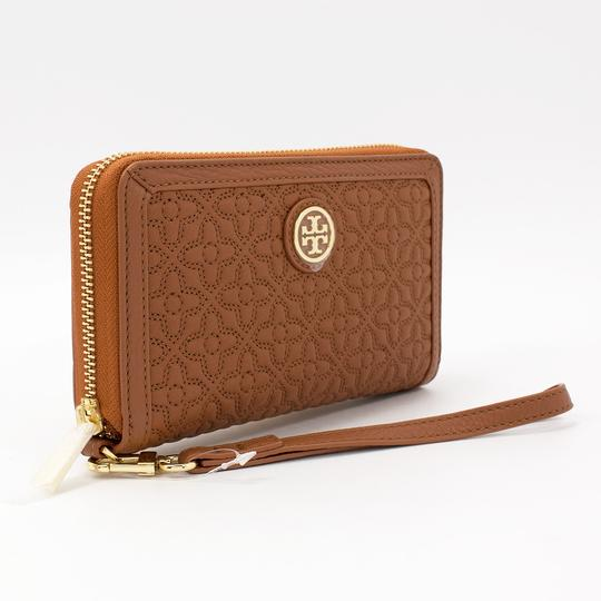 Tory Burch Style # 34030 190041299690 Wristlet in Luggage Image 2