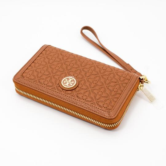 Tory Burch Style # 34030 190041299690 Wristlet in Luggage Image 4