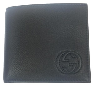 Gucci Gucci Black Soho Soft Leather Wallet. #322115