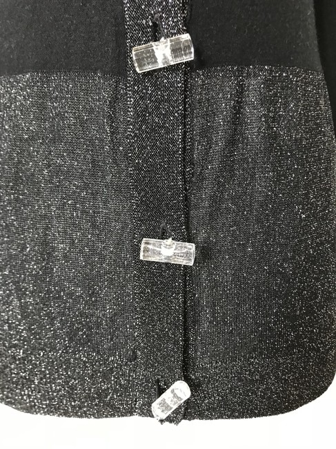 Tracy Reese Cradigan Metallic Chunky Buttons Sweater Image 3