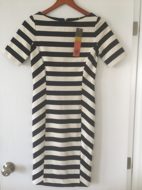 Tory Burch Striped Summer Preppy Dress Image 1