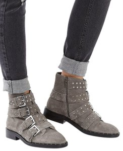 Topshop GRAY SUEDE Boots
