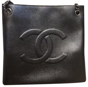 bdb74e52e021 Added to Shopping Bag. Chanel Tote. Chanel Shopping Bag Large Pebbled  Metallic Calfskin Tote