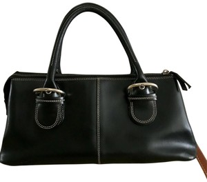 Nannini Satchel in Black