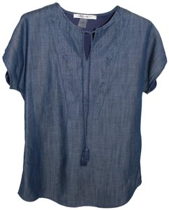 Bianca Nygard Top Blue