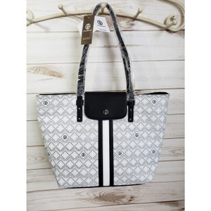 Giani Bernini Tote in Black and White
