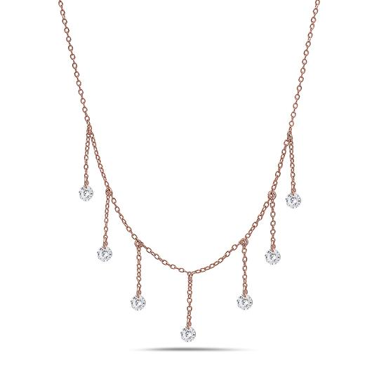 Preload https://img-static.tradesy.com/item/23293701/crush-and-fancy-rose-tone-925-sterling-silver-briolette-choker-necklace-0-0-540-540.jpg