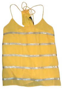 Wish Top yellow and silver