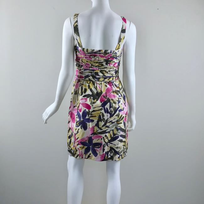 Banana Republic short dress multicolor floral Silk Strapless Summer on Tradesy Image 5