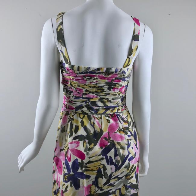 Banana Republic short dress multicolor floral Silk Strapless Summer on Tradesy Image 6