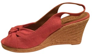 Talbots pink Wedges