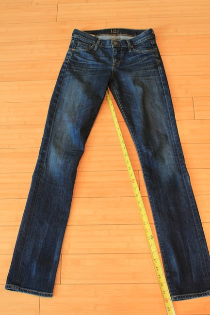 Citizens of Humanity Straight Leg Jeans-Dark Rinse Image 2