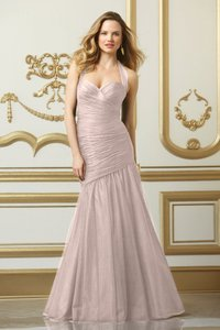 Wtoo Indigo Bobbinet 501 Formal Bridesmaid/Mob Dress Size 12 (L)