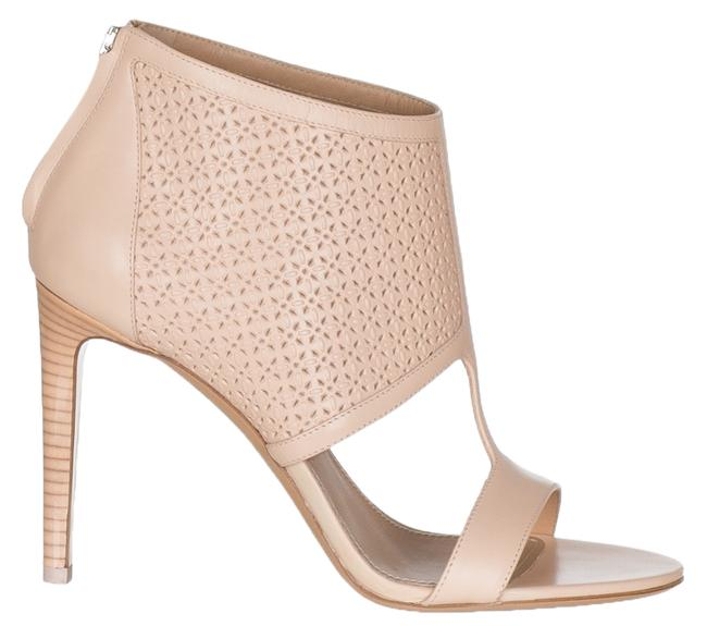Item - Pink Rose Perforated Leather Open Sandals Size US 6 Regular (M, B)