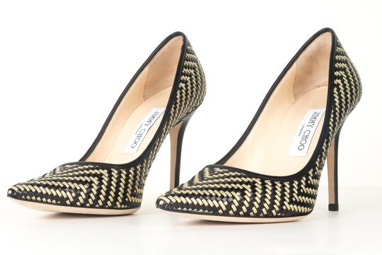 Jimmy Choo black and gold Pumps Image 2