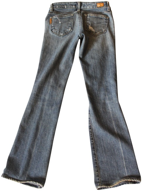 Item - Blue Distressed Laurel Canyon With Boot Cut Jeans Size 25 (2, XS)