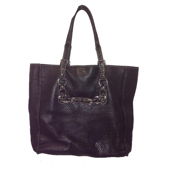 Dolce&Gabbana Miss Buckle Black Leather Tote Dolce&Gabbana Miss Buckle Black Leather Tote Image 1