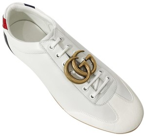 Gucci Mens Sneakers White Flats