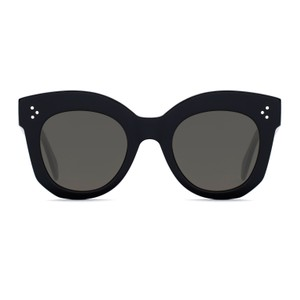 08475c7b695 Céline NEW Celine CL41443 S Chris Sunglasses Oversized Round Black