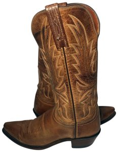 Lucchese Cowgirl 6.5 Cowgirl 6.5 Women 6.5 Brown Boots
