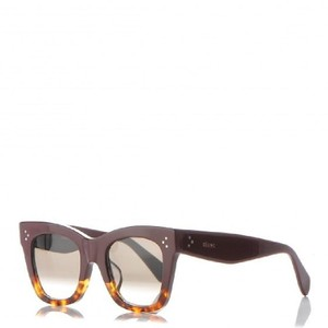 390d518f35a2 Céline NEW CELINE Catherine Small Sunglasses CL 41089 F S Burgundy Havana