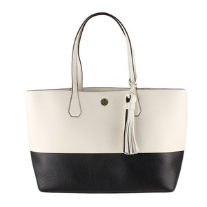 Tory Burch Tote in black and ivory