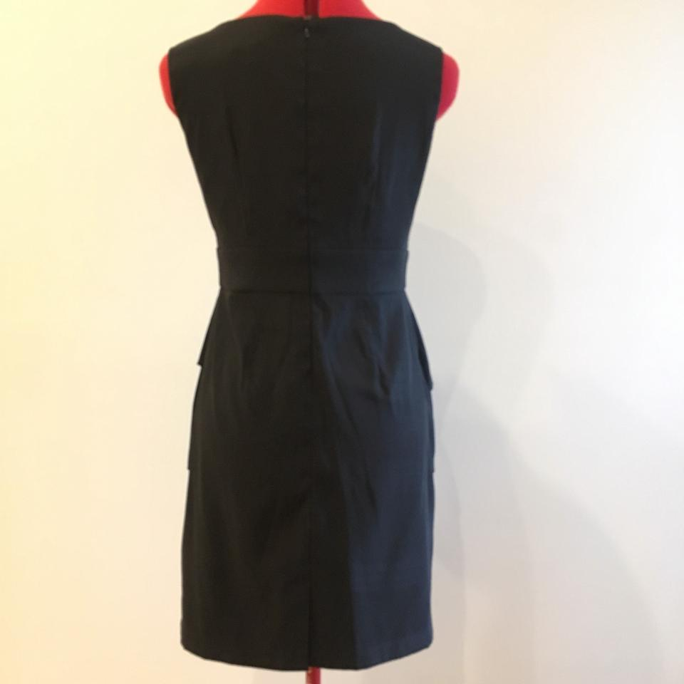 775f4f8b8500 Connected Apparel Black With Flower Short Formal Dress Size Petite 4 (S) -  Tradesy