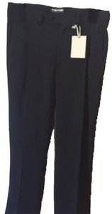 Final Price TOM FORD Black Poly Work Trouser Pants Noir