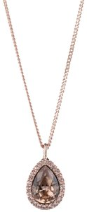 Givenchy Swarovski Givenchy Crystal Pendant Necklace