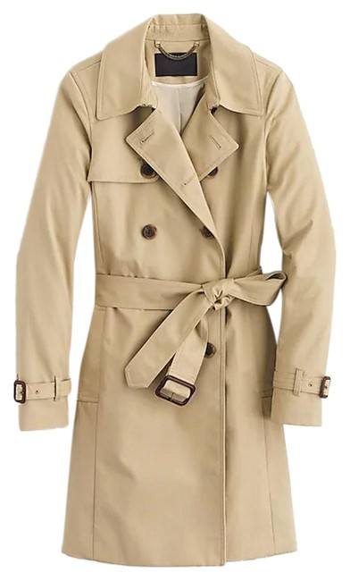 Item - Beige/Tan Classic Trench Coat Jacket Size 0 (XS)