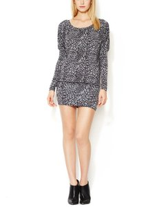 Tart Collections short dress Black/Gray on Tradesy