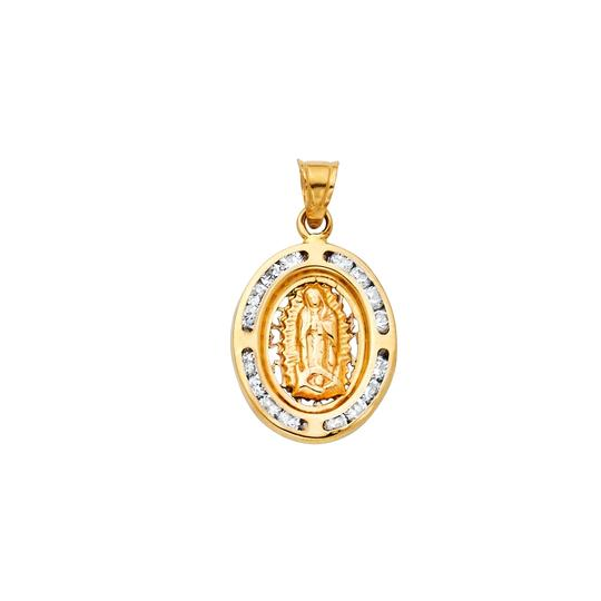 Preload https://img-static.tradesy.com/item/23295269/yellow-14k-guadlupe-cz-religious-pendant-charm-0-0-540-540.jpg