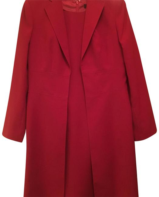 Preload https://img-static.tradesy.com/item/23295417/anne-klein-red-suit-mid-length-night-out-dress-size-10-m-0-1-650-650.jpg