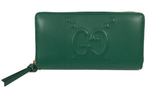 Preload https://img-static.tradesy.com/item/23295453/gucci-green-453393-apollo-w-embossed-gg-zip-around-leather-wallet-0-0-540-540.jpg