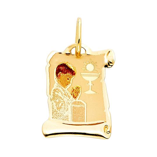 Preload https://img-static.tradesy.com/item/23295454/yellow-14k-communion-enamel-picture-religious-pendant-charm-0-0-540-540.jpg