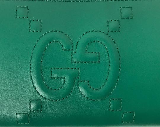 Gucci GUCCI 453393 Original Apollo w/ Embossed GG Zip Around Leather Walle