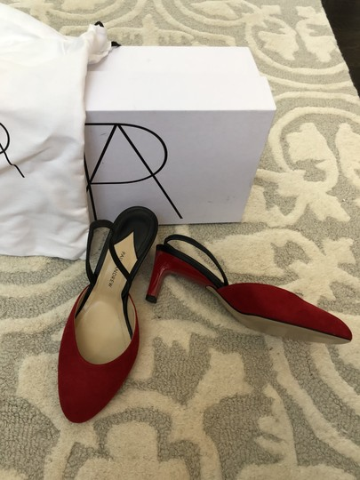 Paul Andrew Red Pumps