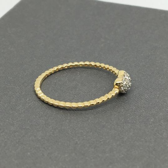 Other 14K Yellow Gold Small CZ Heart Ring